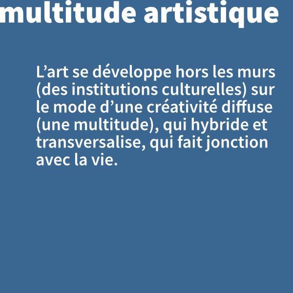 Multitude artistique